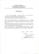 Referencja od firmy Doradca Podatkowy Alicja Marciniak ul. Mickiewicza 27, 58-300 Wałbrzych, tel.: (0-74) 666-03-37