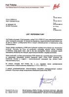 Referencja od firmy Huf Polska