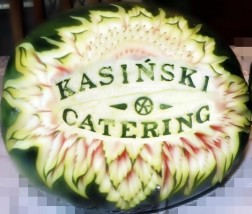 carving- efektowna rzeżba - Catering Kasiński F.G.  Degusto  Limanowa