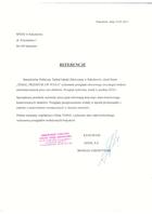 Referencja od firmy Szpital w Sulechowie