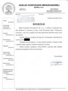Referencja od firmy ZGM Chojnice