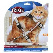 Szelki dla dużego kota Trixie 41963 My kitty darling - Sklep zoologiczny Tajgerka - marseba Gniezno