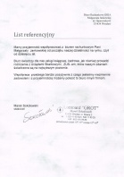 Referencja od firmy Lombard GROT