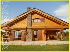 Domy drewniane całosezonowe - DREWNEX Spytkowice