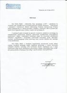 Referencja od firmy Wyższa Szkoła Pedagogiczna im. Janusza Korczaka o - Wałbrzych