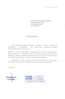 Referencja od firmy OSS Spółka z o.o.
