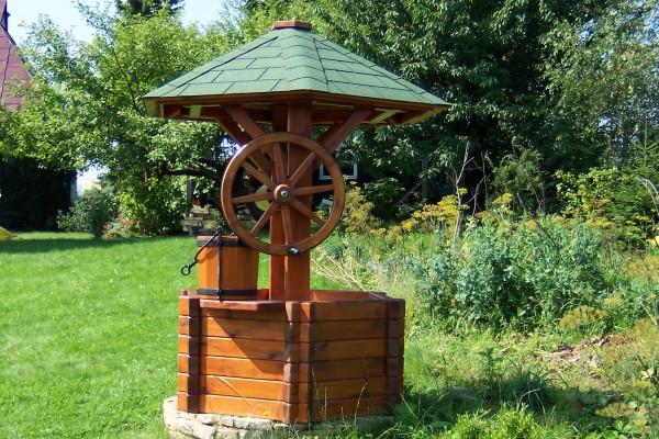 Castorama Nowy Targ Meble Ogrodowe : meble ogrodowe Dekoracyjna studnia ogrodowa  Stróżówka G&G wood