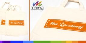 Bawełniane torby z nadrukiem - Merea Agencja Reklamowa Wrocław