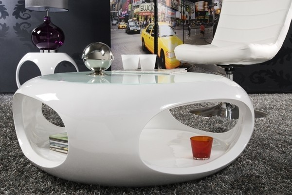 Stolik spin bia y living art stoliki living art for Salontisch design