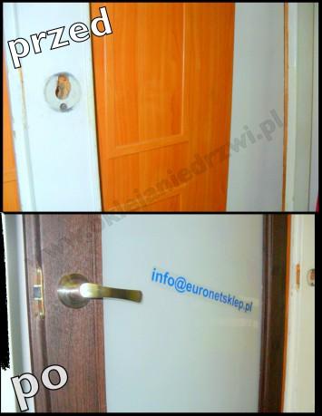Oklejanie drzwi warszawa