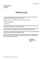 Referencja od firmy Izbi Zbigniew Rogowski