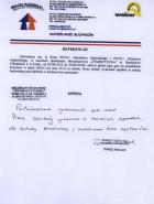 Referencja od firmy S.M. Sympatyczna
