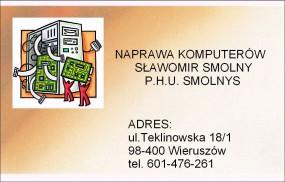 serwis laptopów i notebooków - naprawa komputerów i laptopów fhu smolnys Wieruszów