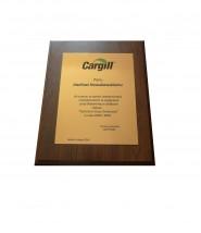 Dyplom dla najlepszego pracownika - Argus Gliwice