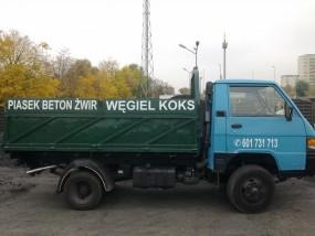Transport węgla, koksu, brykietu, drewna kominkowego Szczecin - U słowików Firma Usługowo-Handlowa Szczecin