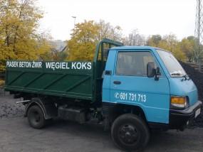Transport piasku, ziemi, żwiru Szczecin - U słowików Firma Usługowo-Handlowa Szczecin