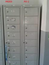 Doczyszczanie szafek odzieży roboczej - EwelClean Profesjonalna Firma Sprzątająca Brzeg Dolny