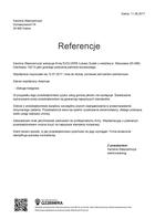 Referencja od firmy Karolina Wawrzenczyk