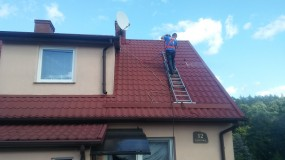 Mycie i czyszczenie dachów - Hubi-Clean Hubert Labusch Sorkwity