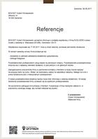 Referencja od firmy BOVIVET Hubert Klimaszewski