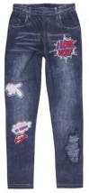 getry legginsy jeans dla dziewczynek - wszystkodladziewczynek.pl Krężnica Jara