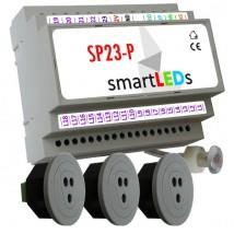 Sterownik oświetlenia LED schodów z półpiętrem+3 czujniki optyczne - APACHETA Smart Systems Podkowa Leśna