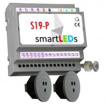 Sterownik oświetlenia 19 LED schodów +2 czujniki optyczne - APACHETA Smart Systems Podkowa Leśna