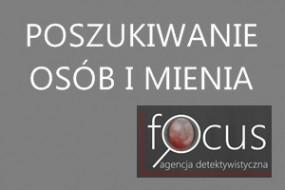 Poszukiwanie osób i mienia - Focus Agencja Detektywistyczna Łukasz Nawrot Poznań