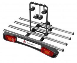 Stelvio Tilting 4 - bagażnik na hak, na 4 rowery, odchylany - Europejskie Centrum Innowacyjne Kamil Pyclik Kluczbork