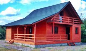 domy z drewna, letniskowe, całoroczne, domy drewniane - Domy z Drewna - DOMDREV - Drewniane, Ewa Puda Jeleśnia