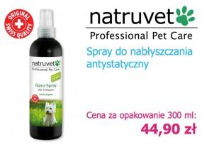Spray nabłyszczający do sierści psa - NERO GOLD Bezglutenowe Karmy dla Psów i Kotów Rzeszów