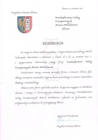 Referencja od firmy Prezydent Miasta Gliwice