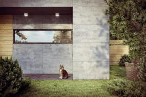 Elewacje z betonu architektonicznego - beton architektoniczny VHCT - Luxum - Producent Wyposażenia Wnętrz Kraków