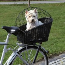 Trixie kosz dla psa na bagażnik rowerowy - ABC ZWIERZAKA Internetowy sklep zoologiczny Ewa Krzemińska Ostrowiec Świętokrzyski