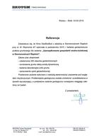 Referencja od firmy EKOTOM
