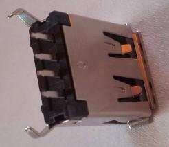 Gniazdo USB A 2.0 proste złocone - MIM ELECTRONICS Marcin Ślipek Stargard