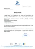 Referencja od firmy Totalizator Sportowy sp z o.o.