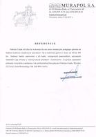 Referencja od firmy Murapol S.A.