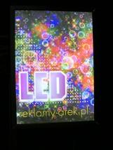 Ramki świetlne LED, zatrzaskowe, system OWZ - AREK Agencja Reklamowa Mińsk Mazowiecki
