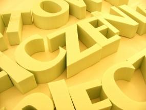 Litery przestrzenne ze styroduru, logo, litery malowane - AREK Agencja Reklamowa Mińsk Mazowiecki