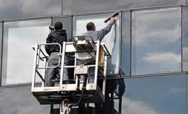 Mycie okien na wysokościach - Firma Usługowa Flux Kerger Sp.j. Siemianowice Śląskie
