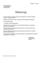 Referencja od firmy Kancelaria Notarialna