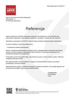 Referencja od firmy Agencja reklamowa Arek  Minsk Mazowiecki