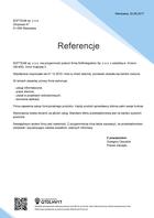 Referencja od firmy SOFTEAM sp. z o.o.