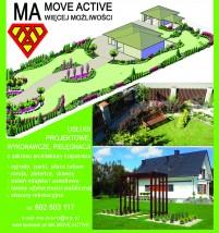 Usługi ogrodnicze kompleksowo - MA MOVE ACTIVE Wolbrom