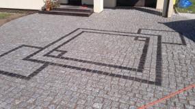 Układanie kostki granitowej - ART-BRUK Ireneusz Artemniak Łukta