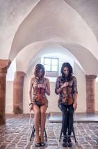 Alicja i Basia na skrzypcach. - Muzyka na ślubie i weselu Daszewice