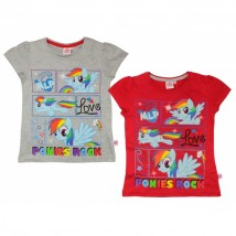 T-shirty dziewczęce My Little Pony - GATITO Sp. Z O.O Sp.K. Dystrybutor artykułów i odzieży licencyjnej dla dzieci Jaworzno