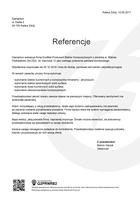 Referencja od firmy Gamarkon