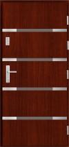 Drzwi zewnętrzne drewniane - Wojciech Kołtuniak Solidne Drzwi Skrzyszów